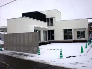 雪中展示会